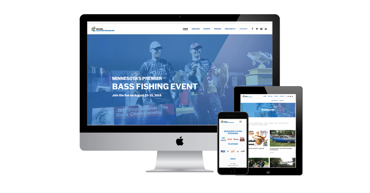 fishing club website