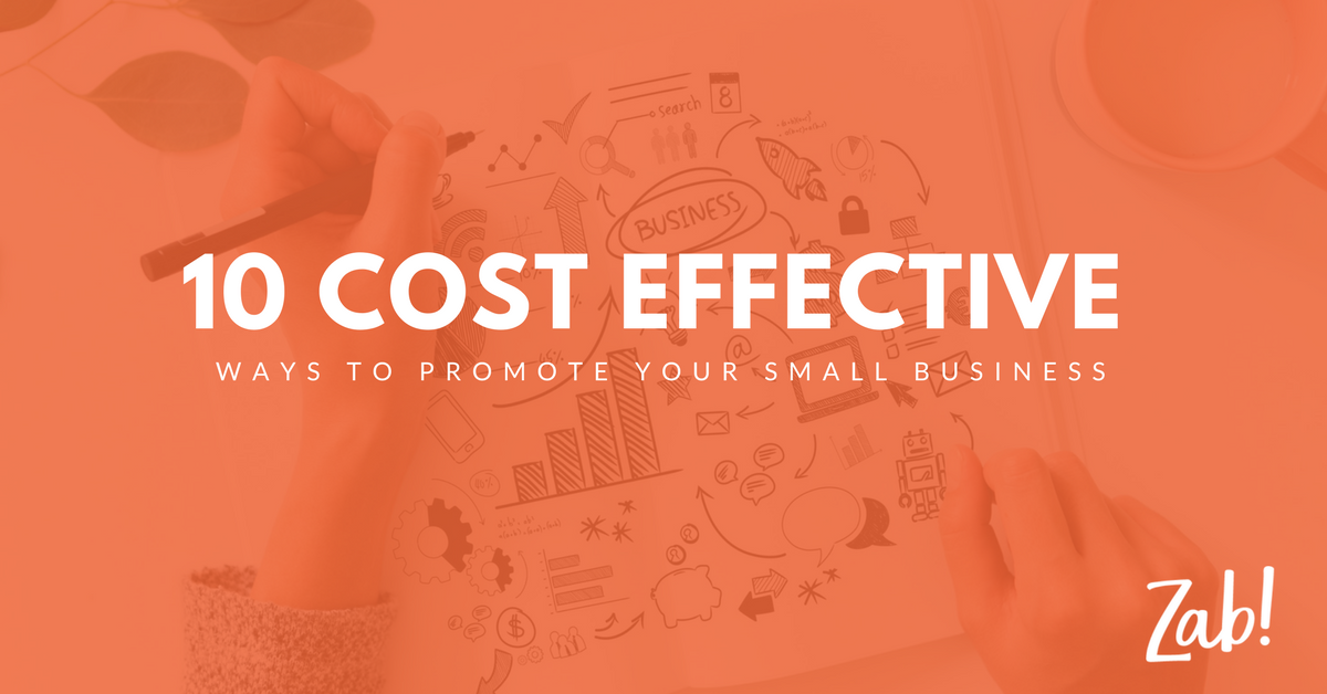 10 cost effective ways to promote your business